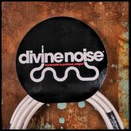 Divine Noise 20' ST-ST Instrument Cable (White)