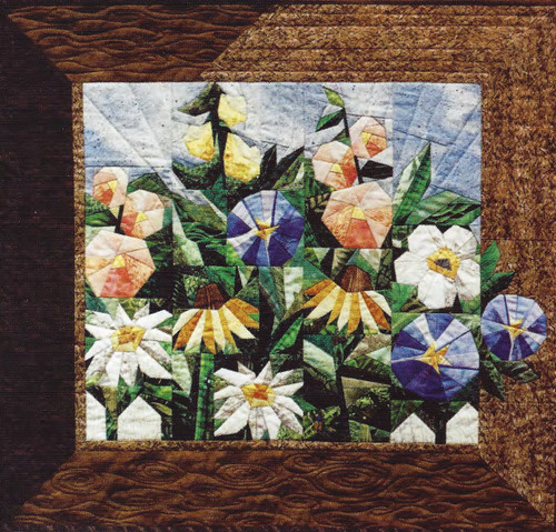 Millie's Garden Paper Piecing  Quilt
