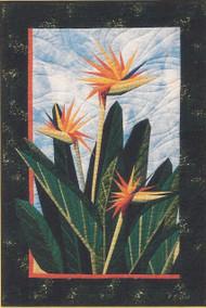 Birds of Paradise Paper Piecing Quilt