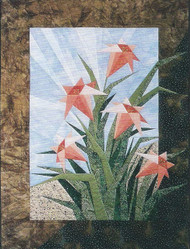 Day Lilies Paper Piecing Quilt