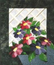 Lattice Garden Paper Piecing Quilt