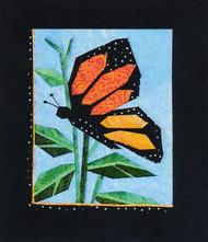 Monarch Paper Piecing Quilt Block