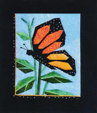 Monarch Paper Piecing Quilt Block