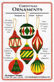Christmas Ornaments Paper Piecing Front Cover