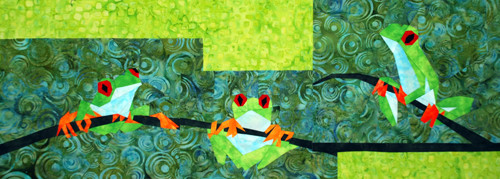 Ribbit Out on a Limb