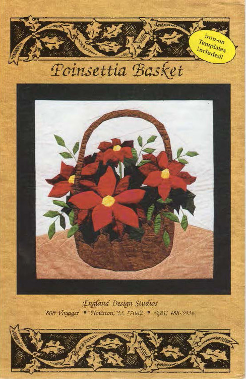 Poinsettia Basket Front Cover