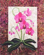 Phalaenopsis Paper Piecing Quilt