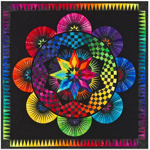 Circle of Life Foundation Paper Piecing Quilt
