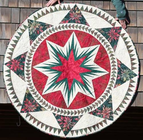Christmas Celebration Tree Skirts 2014 Paper Piecing Tree Skirt