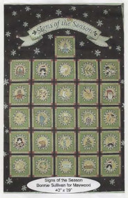 Signs of the Season Fabric Panel