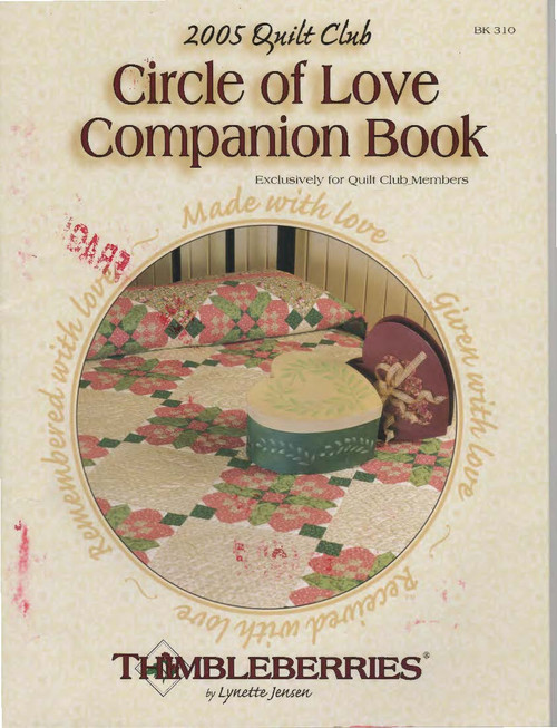 2005 Quilt Club Circle of Love Companion Book Front Cover