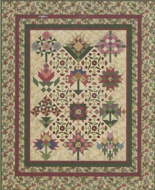 A Quilter S Garden Quilt Patterns By Lynette Jensen 81 X 98