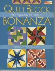 Quilt Block Bonanza Front Cover