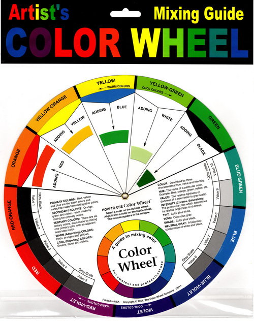 Color Wheel 9in Front