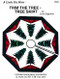 Trim the Tree Tree Skirt Paper Piecing Front Cover