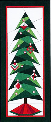 A Little Bit Shorter Tall Tree Quilt