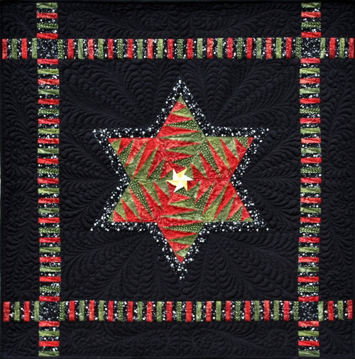 Christmas Dreams & Heavens Light Foundation Paper Piecing Quilt