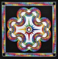 Aurora Foundation Paper Piecing Quilt
