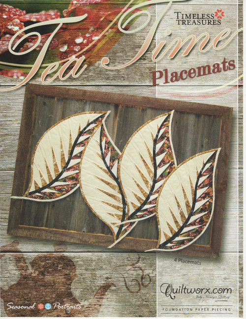 Tea Time Placemats Front Cover