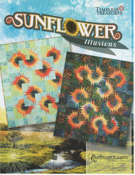 Sunflower Illusions Front Cover