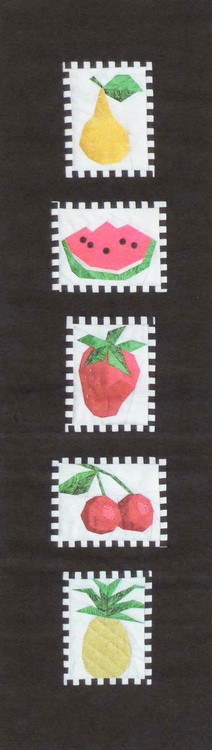 Fruit Sampler Paper Piecing Quilt