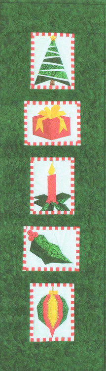 Christmas Sampler Paper Piecing Quilt