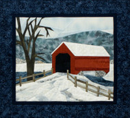Covered Bridge Quilt Block