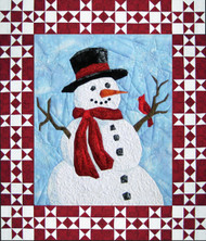 Mr. Frosty Quilt Block