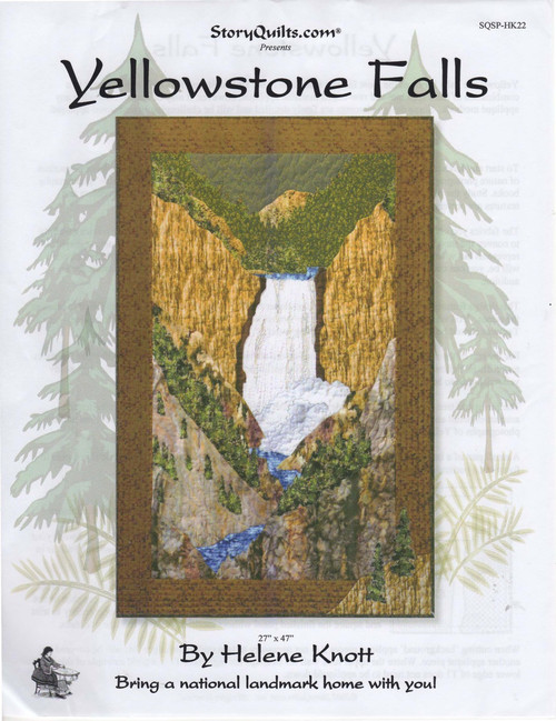 Yellowstone Falls Front Cover