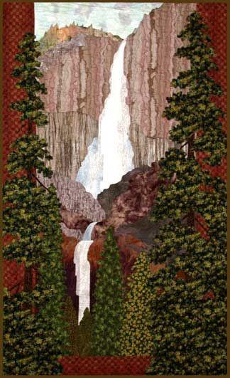 Yosemite Falls Quilt