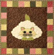 Caulipuss Applique Block
