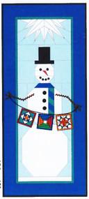 Winter Paper Piecing Quilt