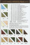 Wine Country Fabric Chart