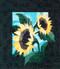 Sunflowers Paper Piecing Quilt Block