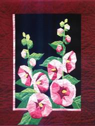 Summer Nights: Hollyhocks Paper Piecing  Quilt