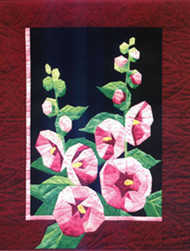 Summer Nights: Hollyhocks Paper Piecing  Quilt