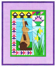Easter Baskets Paper Piecing Quilt