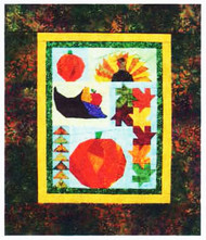 Shades of Fall Paper Piecing Quilt