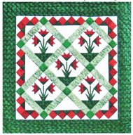 Carolina Lily Paper Piecing Quilt