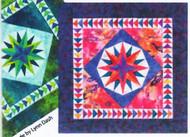 Mini-Mariner's Compass Paper Piecing Quilt