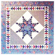 Feathered Star Paper Piecing Quilt