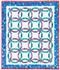 Mini Wedding Ring Paper Piecing Quilt