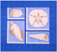 Sand Dollar & More Paper Piecing Patterns Quilt