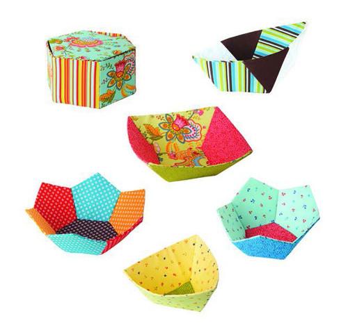 Bowls English Paper Piecing