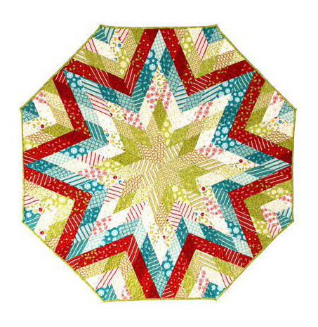 Diamond Tree Skirt English Paper Piecing Pattern