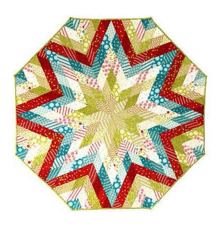 Diamond Tree Skirt English Paper Piecing Pattern
