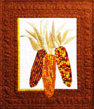Indian Corn Foundation Paper Piecing Pattern Quilt