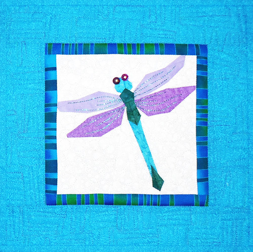 Dragonfly - Foundation Paper Piecing Pattern