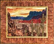 Desert Mesa Applique Quilt