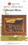Desert Mesa Applique Quilt Front Cover